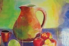 Äpfel und Birnen 100x100